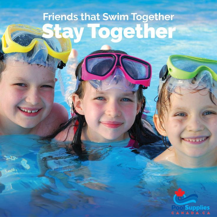 Friends That Swim Together, Stay Together! #friends