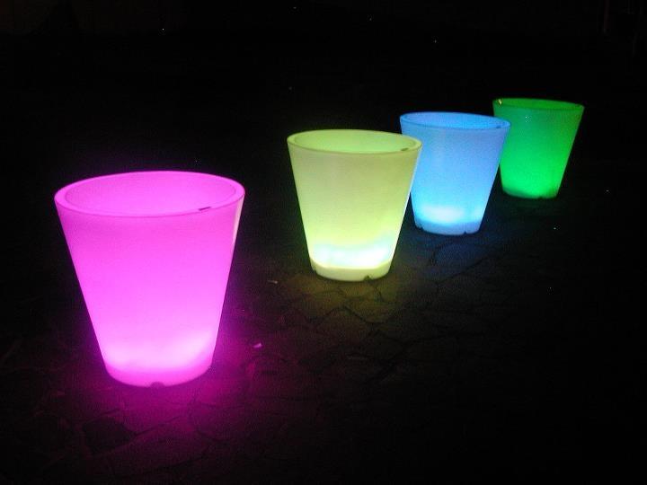 11 best images about macetas con luz tipo lounge on - Macetas con luz ...