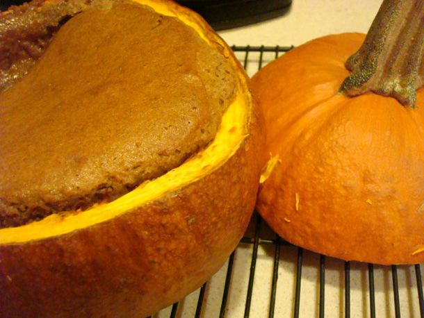 Cake Baked in a Pumpkin | Serious Eats : Recipes
