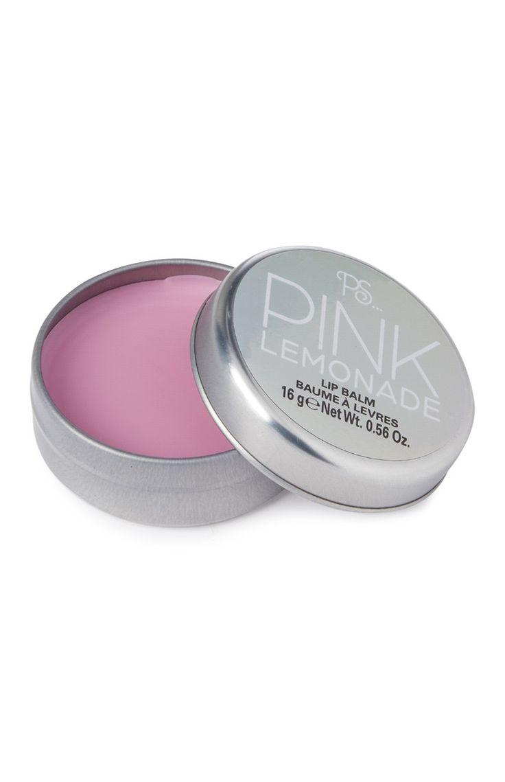 Baume à lèvres limonade rose