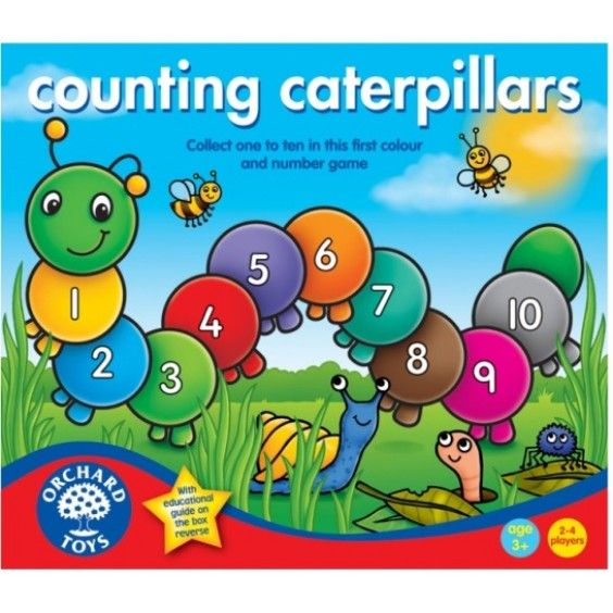 Orchard Toys - Counting Caterpillars First Colour and Number Game. #Entropywishlist and #pintowin