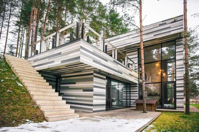 современный частный дом7