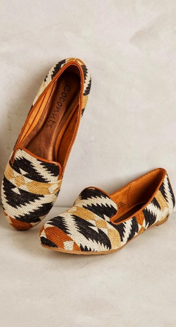 Gorgeous southwestern loafers fashion trend