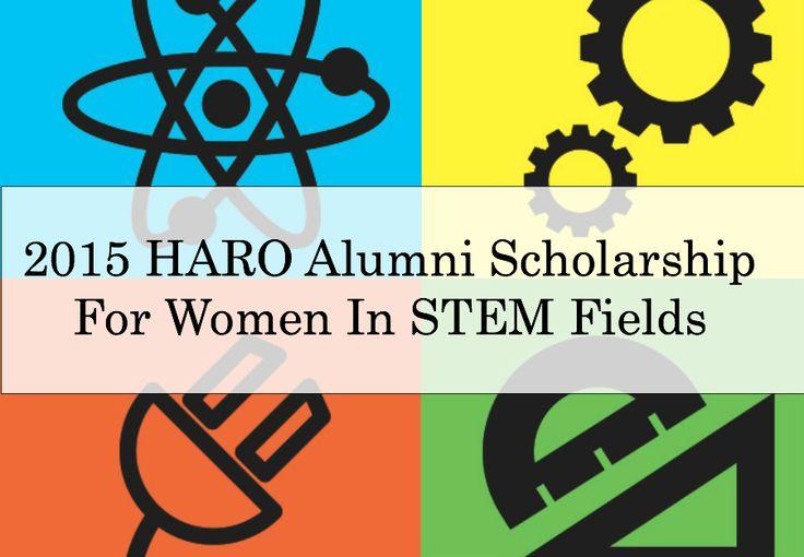 Announcing the 2015 HARO Alumni Scholarship for Women in STEM Fields