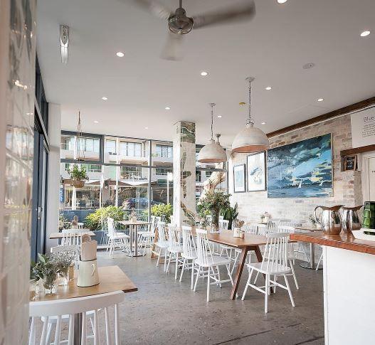 Lighting by Zaffero: Riva Grey Commercial Project: Girlders Cafe, Sydney