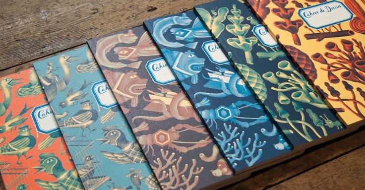 New Nobrow Sketchbooks - Nice!  £6.95 (S) & £8.95  (L)