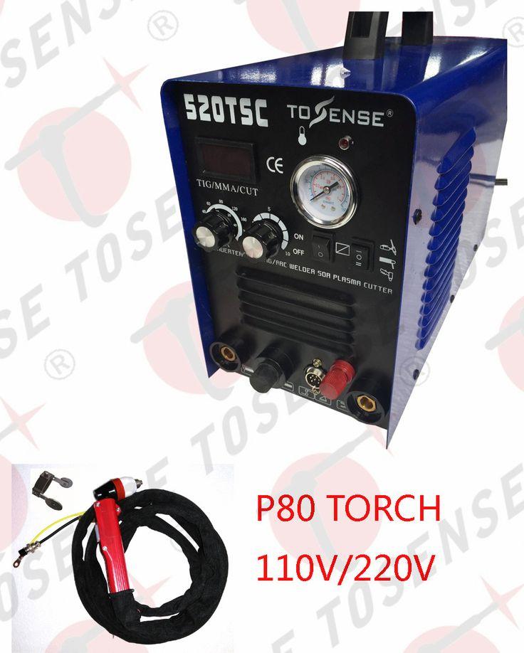 CNC 520TSC TIG MMA CUT ARC Multifunction Pilot arc Welding Machine 110 220V With Accessories #Affiliate