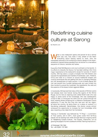 Sarong, Jalan Petitenget 19X, Seminyak +62 361 737 809   One of the best restaurants in Bali, definitely the best in Seminyak. Indian / Asian Fusion.
