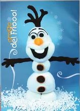 free sewing pattern for a stuffed Olaf from Frozen Doll