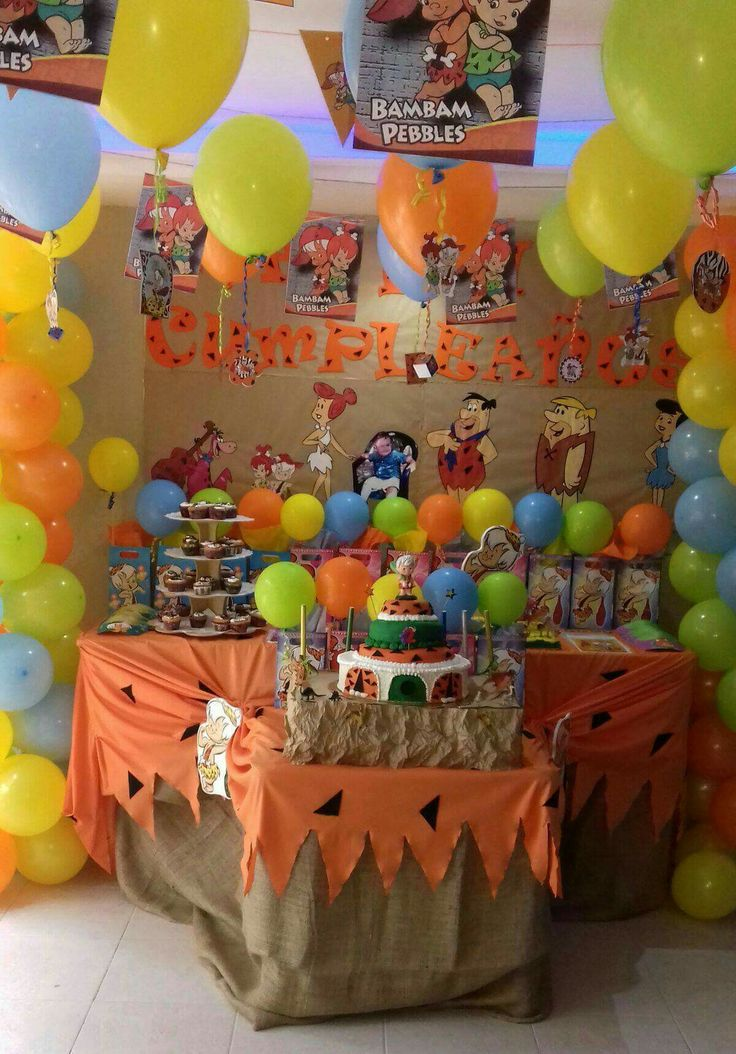 51 Best Images About Pebbles Bambam Birthay Ideas On