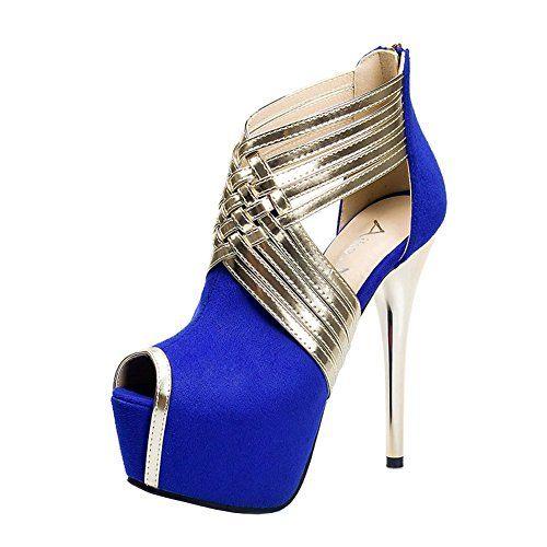 Adrianna Papell Flynn Femmes US 11 Bleu Talons emuJS
