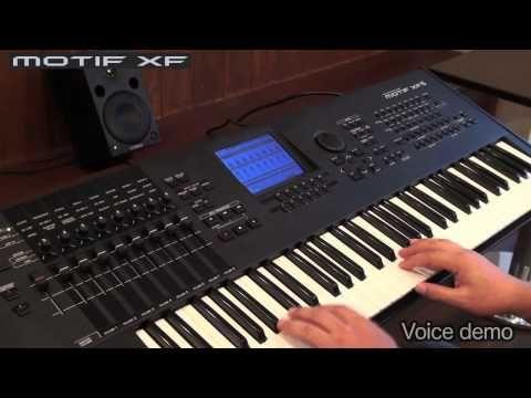 MOTIF XF Demostración - YouTube