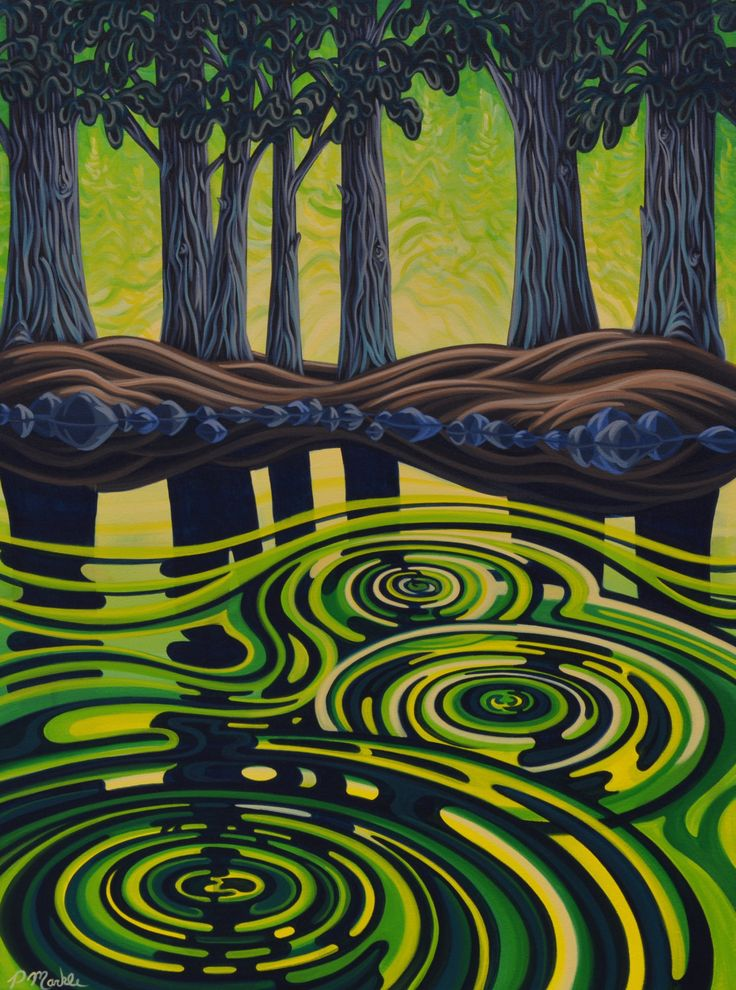 One of many paintings I have with me in Calgary at the Festival of Craft, this weekend.