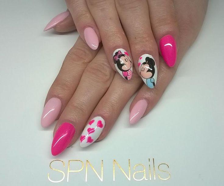 SPN Nails UV laq Night in Miami, Rose Blush, paint gel