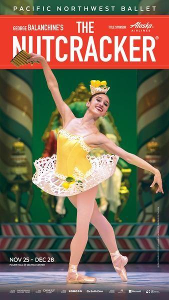 Pacific Northwest Ballet-Nutcracker Poster