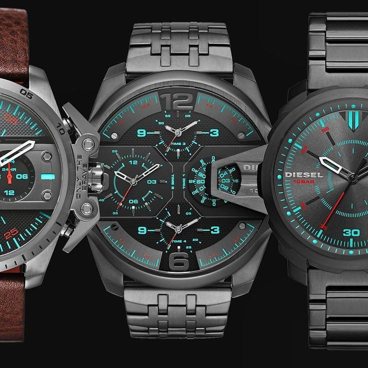 A Cool New Collection Just Arrived at Watchismo.com  Far from ordinary Diesel watches take time less seriously than most other timepieces. These unique new Uber Chief Machinus & Ironside watches are now available at Watchismo.com so get yours first and they'll show you a good time.