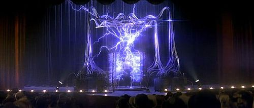 The Tesla Machine from The Prestige - another inspiration for The Machine