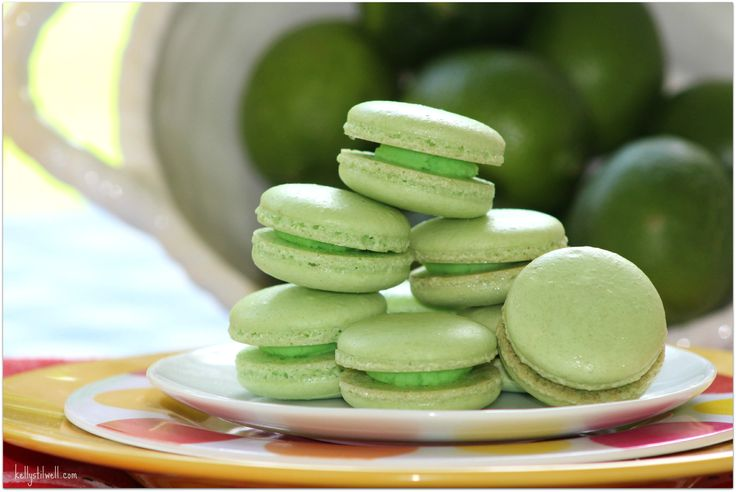 Cookies are one of my favorite foods, and these Fresh Lime macarons are the perfect summer dessert. Take these to that party and you'll be a total rockstar!