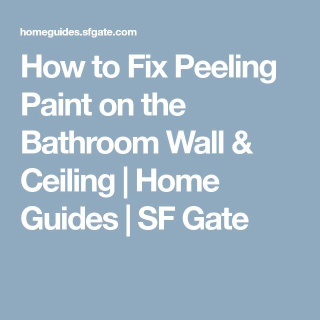 Best 25+ Peeling Paint Ideas On Pinterest