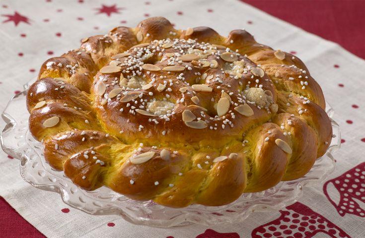 Recept på Drottning Kristinas julbröd