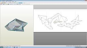 Pepakura Designer allows you to create paper craft models from 3D data. Pepakura Designer is developed in Japan and has been translated to English. This software is open to the public as shareware so you can download and try it freely although some advanced features are limited until you purchase a license key. Pepakura Designer translates models to a 2D printable format. Pepakura supports some 3D file formats from software such as 3D Studio, LightWave, 3D Studio Max and Softimage.