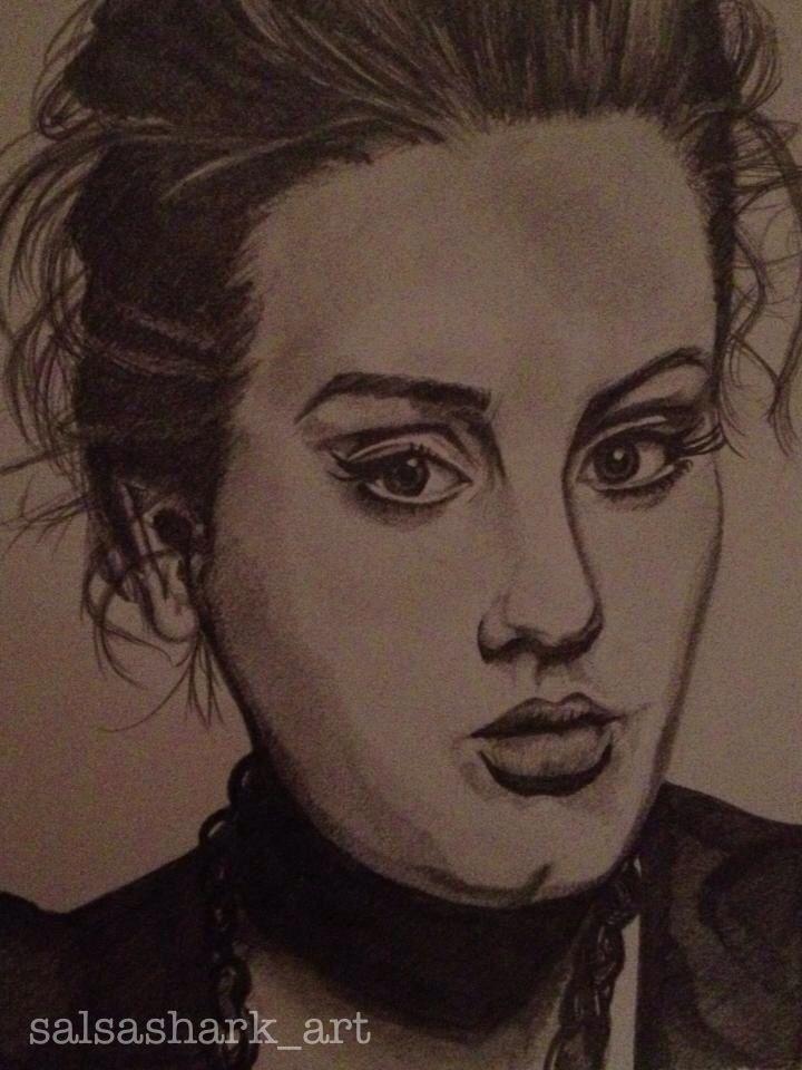 Adele sketch