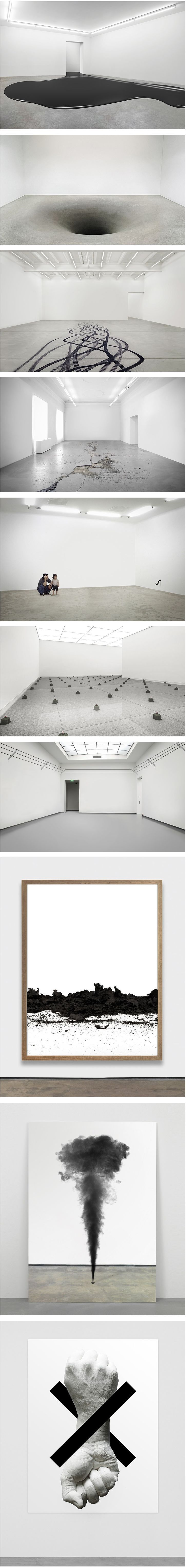 Fabian Bürgy a sense of the improbable. This Swiss artist born in 1980 turns everyday objects at the heart of its facilities. Installations in museal context.: