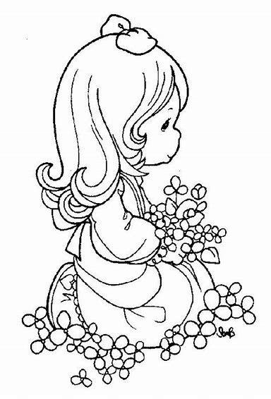 Rezultat slike za precious moments angels coloring pages   Mimi ...