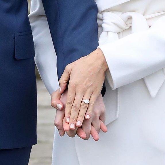 Loving Meghan Markle's ring! Repost @voguebridesaustralia and @aquazzura heels #love #happy #bridalstyle #bridestory #weddingday #weddingtime #wedding #weddingideas #bride #bridal #bridallook #bridetobe #amalinevitale #bridalshoes #weddingshoes