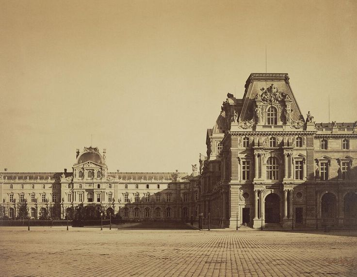 Le Louvre en 1859 - Gustave Le Gray