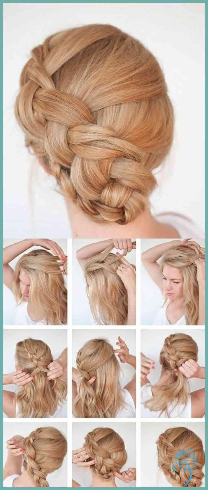 Silvester Frisuren Selber Machen 8 Einfache Anleitungen  8
