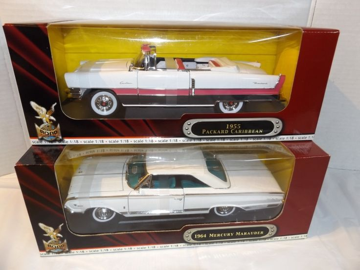 1:18 '55 PACKARD CARRIBEAN & '64 MERCURY MARAUDER