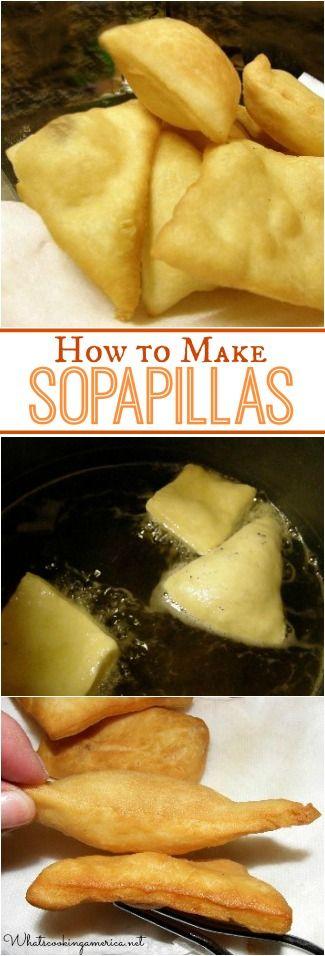 New Mexico Sopapillas Recipe | whatscookingamerica.net | #sopapilla #newmexico