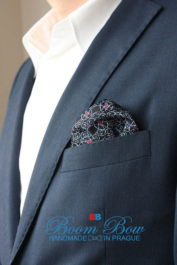 "Pocket Square / Silk handkerchief  12""x12"" Free Shipping"