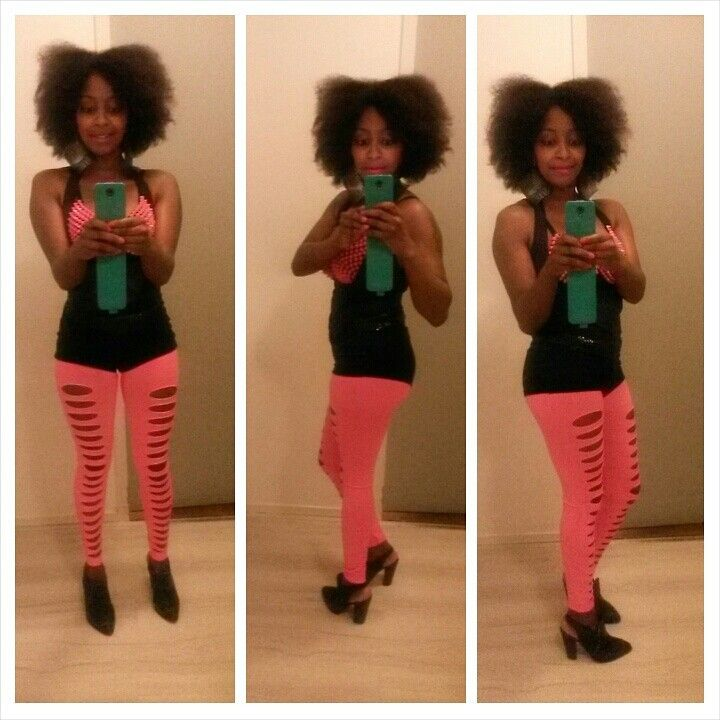 Rocking my fro