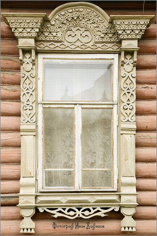 Window in Russia.
