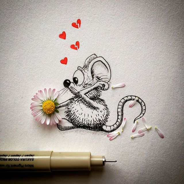 Super Cute Mini Drawings That Will Make Your Day