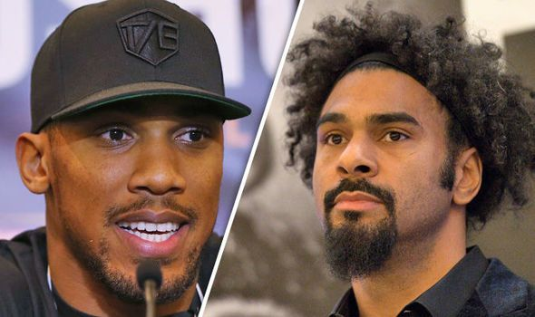David Haye taunts Anthony Joshua: Forget Eric Molina fight me and break records