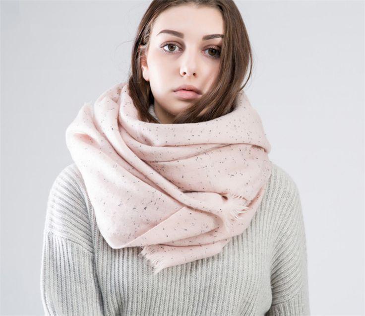 [Ode To Joy]Top quality Unisex Women men Scarf Fashion Scarves Winter Soft Cashmere long pashmina warm dot jacquard Shawl
