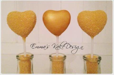 Emmas KakeDesign: Valentines cake pops! DIY on the blog www.emmaskakedesign.blogspot.com