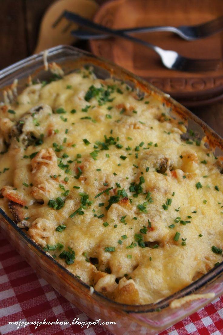 zapiekanka warzywna z serem