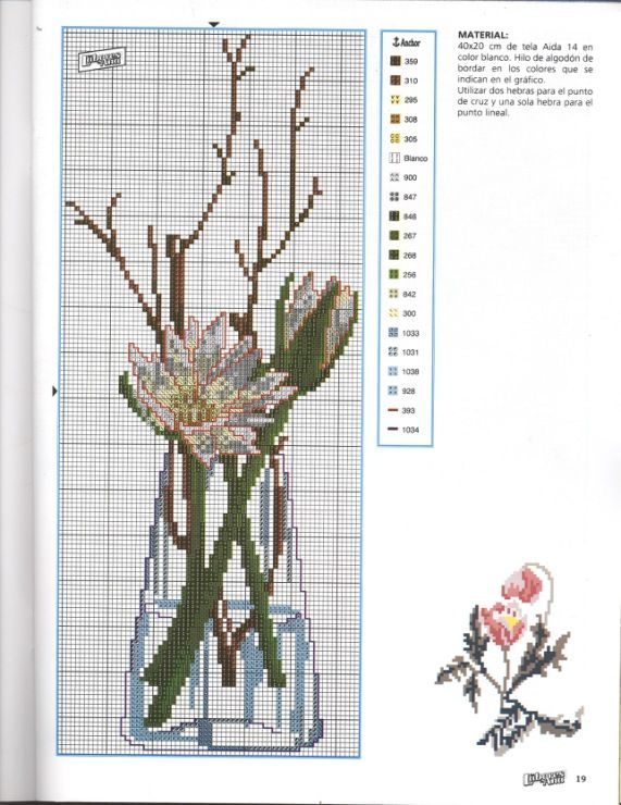 Gallery.ru / Фото #7 - разные цветочные схемы - irisha-ira