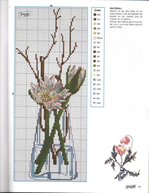 Gallery.ru / Фото #76 - разные цветочные схемы - irisha-ira