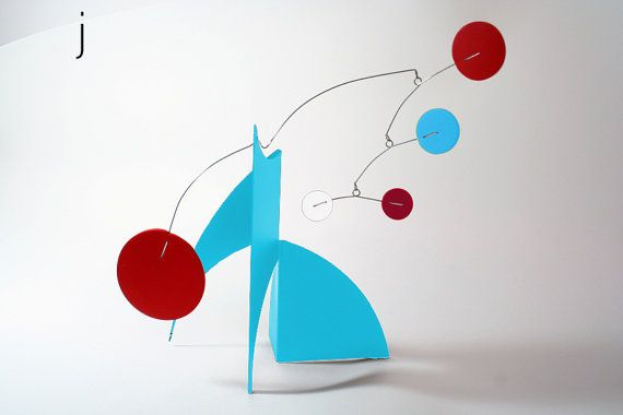 THE MODERNE Retro Midcentury Modern Art Stabile by AtomicMobiles