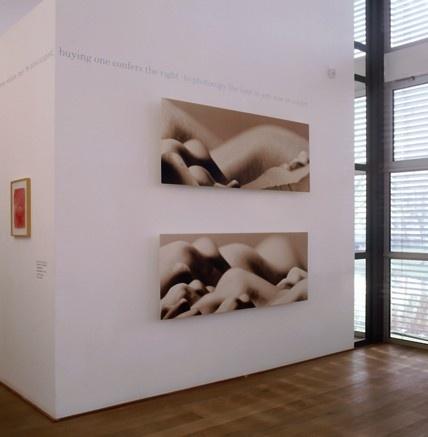 Daniëlle Kwaaitaal in It's Unfair!. © Gert Jan van Rooij, Museum De Paviljoens