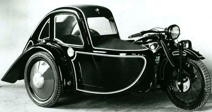 1929 BMW model R11 Sidecar Outfit