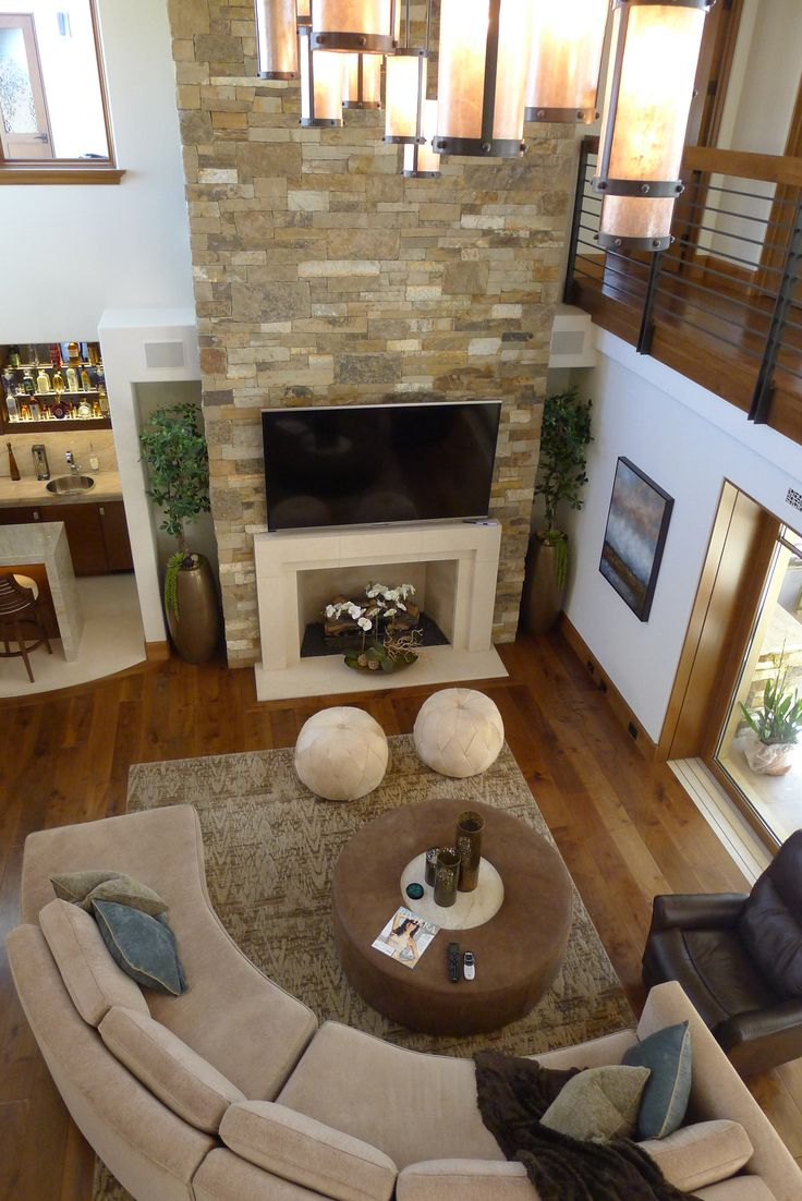 Awesome Living Room And Great Room Featured On The 2015 Harbor Home Tour