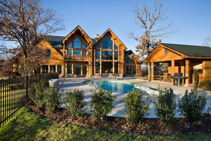 best 25 log homes exterior ideas on pinterest cabin homes beauty cabin and log cabin homes. Black Bedroom Furniture Sets. Home Design Ideas