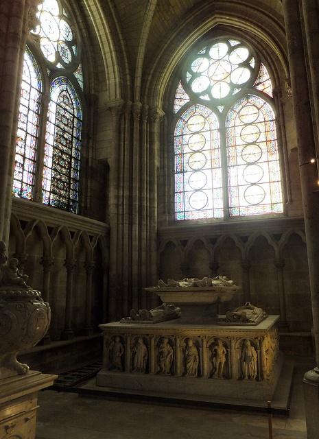 Basilica of St Denis, Paris, France, via Flickr.