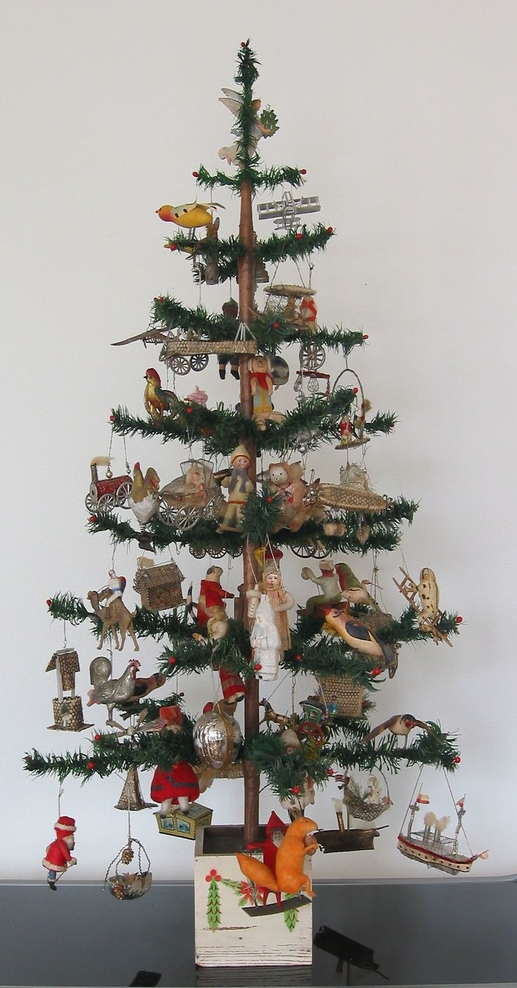 25 b sta antique christmas ornaments id erna p pinterest for Antique christmas tree decoration